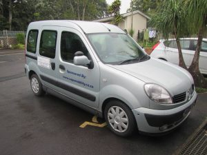 Adapted Renault Kangoo